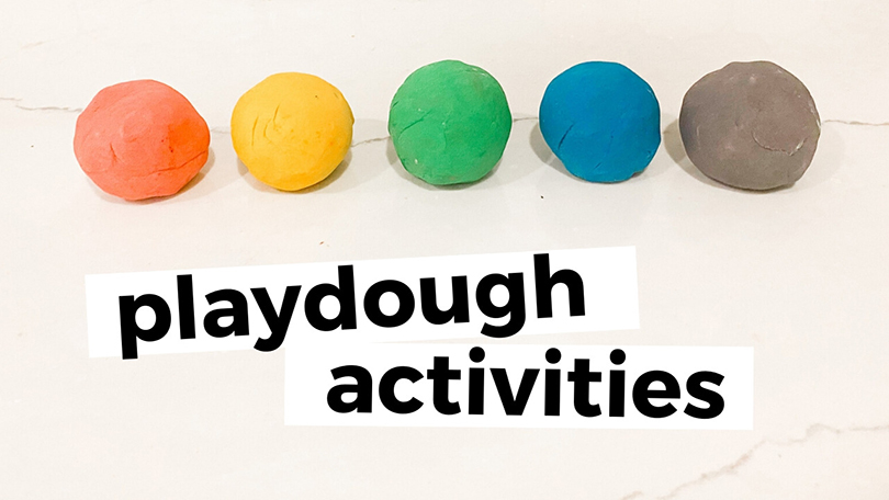 How to Play with Playdough