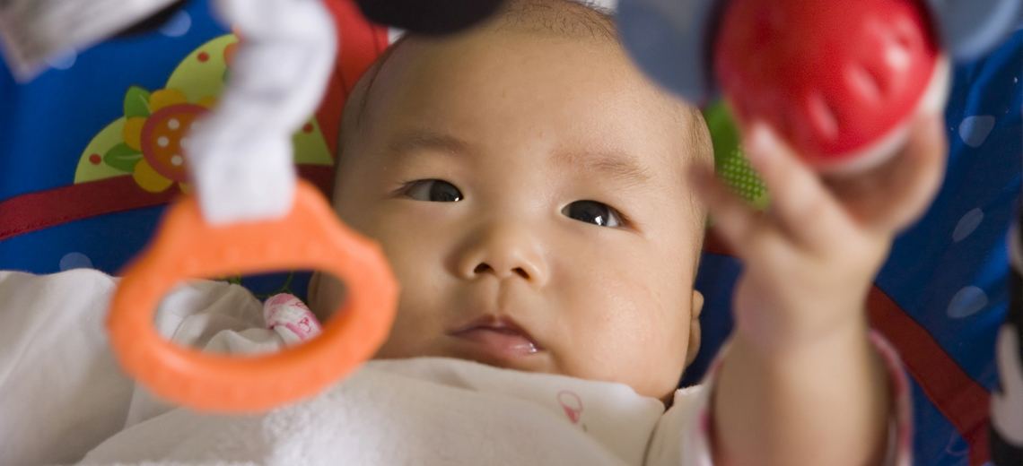 The Role of Play for Newborn Child Development: Playing at 0-6 Months