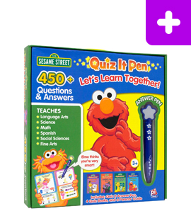 Quiz It Pen - Sesame Street