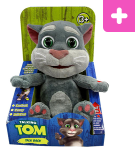 Talking Tom and Friends Stuffed Mini Talking Tom