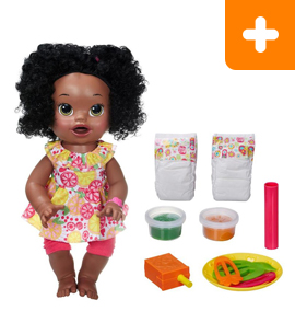 Baby Alive Super Snacks My Super Snackin' Baby Doll