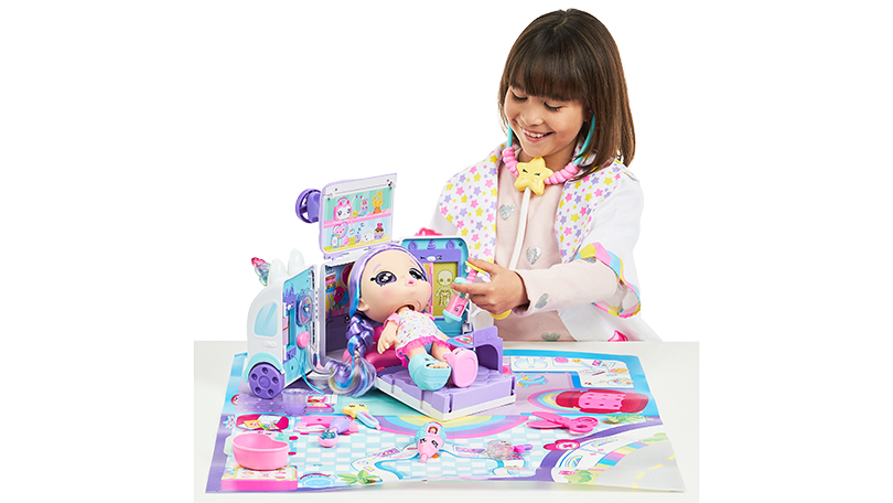 Kindi Kids Kindi Fun Unicorn Ambulance Playset
