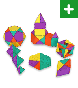 Geometiles 3D Building Set for Learning Math