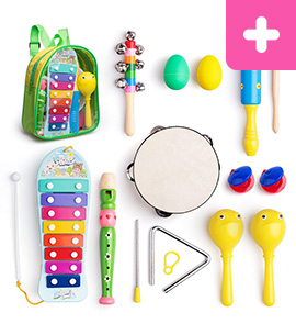 Frunsi musical percussion instrument toy set