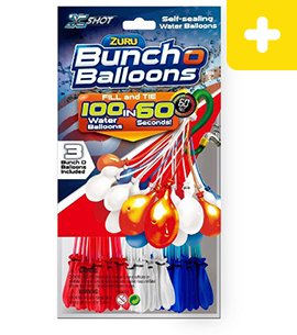 Bunch O Balloons Multi-color Pack (Red, White & Blue)