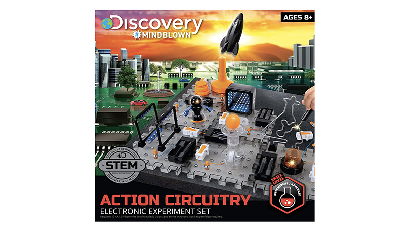 Discovery #MINDBLOWN Toy Circuitry Action Experiment Set