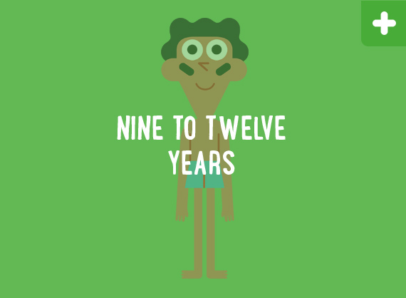 Nine to Twelve Years